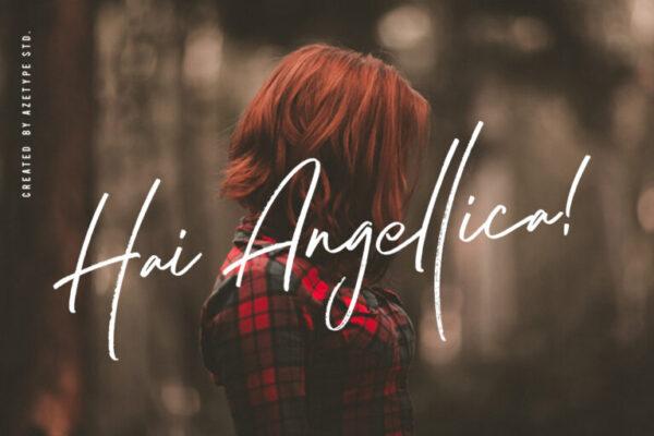 Hai Angellica!